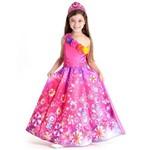 Fantasia Princesa Barbie Secret Door Luxo Tamanho G - Sula