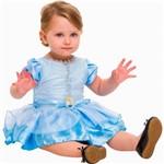 Fantasia Princesa Cinderela Baby