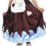 Fantasia Princesa Cristal - Dupla Face P