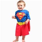 Fantasia Super Homem Bebê P Sulamericana