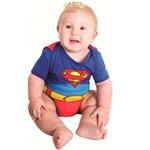 Fantasia Super Homem / Superman Verão Bebê(baby) Sulamericana.