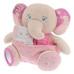 Fantoche Pelucia Menina Mamãe Elefante Soft Cuddles Chicco