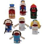 Fantoches Nascimento de Jesus com 7 Personagens