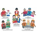 Fantoches Segurança Publica Kit com