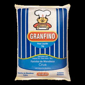 Farinha de Mandioca Granfino Crua 1kg