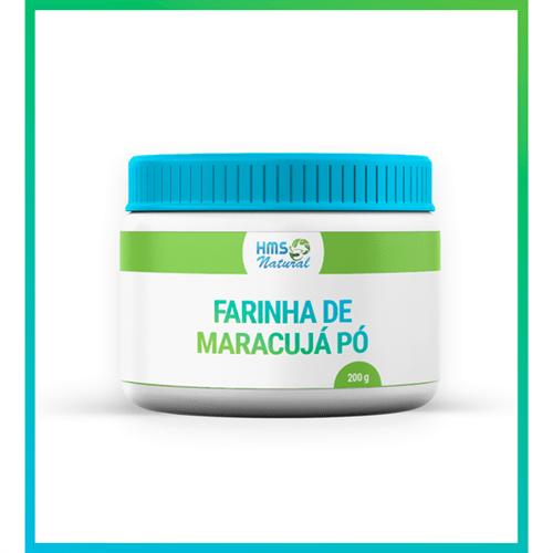 Farinha de Maracujá Pura Pó 200 Gramas