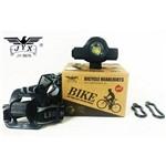 Farol Bike Usb com Zoom e Indicador de Carga Bateria Top