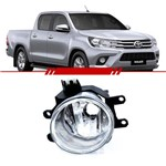 Farol de Milha Auxiliar Toyota Hilux 2016 e 2017 Corolla 2015 à 2017 Lado Esquerdo Motorista