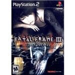 Fatal Frame Iii: The Tormented - Ps2