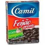 Feijão Preto Temperado Camil 380g