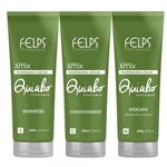 Felps Kit Quiabo Regenerador Capilar 3x250ml