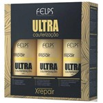 Felps Kit Xrepair Ultra Cauterização 3x500ml