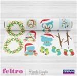 Feltro Mewi Coleção Natal - Scrap Felty Guirlanda (100X1,40)