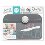 Ferramenta de Corte e Vinco Wer Memory Keepers – 1-2-3 Punch Board Envelopes, Caixas e Laços 662530