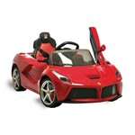 Ferrari Laferrari Elétrica 12v Vermelha R/c – Bandeirant