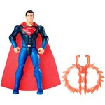 Figura Articulada - 15 Cm - Dc Comics - Liga da Justiça - Superman Lançador Térmico - Mattel