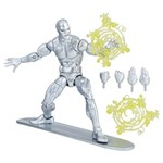 Figura Articulada - 26 Cm - Legends Series - Marvel - Surfista Prateado - Hasbro