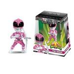 Figura Colecionavel 10 Cm Metals Mighty Morphin Power Rangers Pink Ranger - Dtc