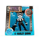 Figura Colecionável 6 Cm - Metals - Dc Super Hero Girls - Harley Quinn Black - Dtc