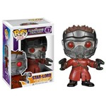 Figura Colecionável - Funko Pop - Disney - Marvel - os Guardiões das Galáxias - Star Lord - Funko