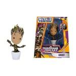 Figura Guardians Of The Galaxy - Metals Die Cast - Groot 4 Pol. - Dtc