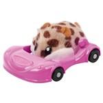 Figura Hamster com Veículo - Hamsters In a House - Super Acelerado - Candide