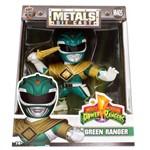 Figura Jada Metal Power Rangers 4 Green Ranger - DTC