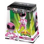 Figura Jada Metal Power Rangers 4 Pink Ranger - DTC