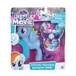 Figura My Little Pony com Luz - Amigas Brilhantes - Rainbow Dash - Hasbro