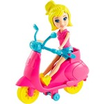 Figura Polly Pocket Scooter Polly Mattel