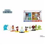 Figuras de Metal Nano - Disney Pack C/ 10 Figuras - Jada Dtc - Nano Metals Fig