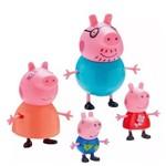 Figuras Família Peppa Pig - Dtc