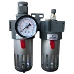 Filtro de Ar Regulador Lubrificador 1/2 Fluir P/ Compressor Marca Sigma