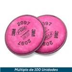 Filtro 3M 2097 P3 Alta Eficiência
