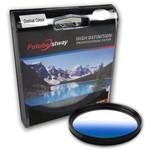 Filtro para Câmera Gradual Azul - Fotobestway 58mm