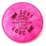 Filtro para Particulados 3M 2091 P3 | Preço do Par