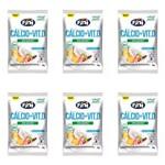 Fini Natural Sweets Balas de Gelatina Calcio + Vitamina D 12x18g (kit C/06)