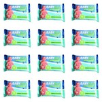 Fiodent Babylimp Toalhas Umedecidas Premium Carinho da Natureza C/50 (kit C/12)