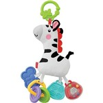 Fisher Price Mordedor Max Zebra de Pelúcia - Mattel