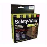 Fita Antiderrapante Safety Walk Neon 3m - Promoção