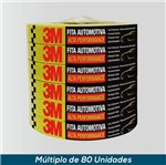 Fita Crepe Automotiva 3M Alta Performance 16mmx50mts