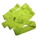 Fita de Ginástica Rítmica Cetim Cores Lisas 3M Dicat Sports - Verde Cítrico