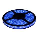 Fita de Led 5050 Silicone 5 Metros Luz Azul