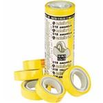 Fita Durex 12mmx10m Amarela 10 Unidades - Adelbras