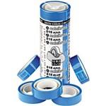 Fita Durex 12mmx10m Azul 10 Unidades - Adelbras