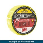 Fita Isolante 3M Imperial Amarelo 18mmx20mts