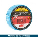 Fita Isolante 3M Imperial Azul 18mmx10mts