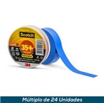 Fita Isolante 3M Scotch 35+ Azul 19mmx20mts
