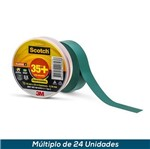 Fita Isolante 3M Scotch 35+ Verde 19mmx20mts