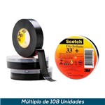 Fita Isolante Profissional Scotch 33+ 19mmx5mts